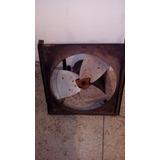 Ventilador 110v Con Motor 1/2hp Monofásico Y Base