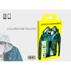Audifonos Zipper Colores Electricos