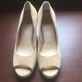 Sapato Peep Toe Cole Haan Importado - Usado Mas Como Novo!