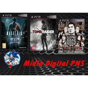 Jogos Em Midia Digital Combo De 3 Jogos [psn Ps3]