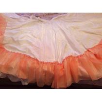 Falda Camisa Llanera Para Danza