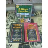 3 Dvd - Karaoke Folklore Tango - Original Nuevo Sellado