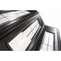 Fabrica Puerta Plegable De Pvc 1/2 Vidrio Reforzada 65x200