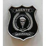 Lote De Brasão Emborrachado Segurança Privada Ou Agente