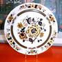Exclusivo Plato Porcelana Inglesa Wood