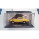 1:43 Chevrolet Opala Ss 1976 Amarelo- Carros Inesquecíveis.