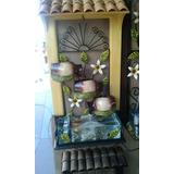Fuente Decorativa De Pared Chica Herreria