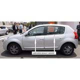 Lame Vidrios Renault Sandero Fabricados En Pvc - 4 Piezas