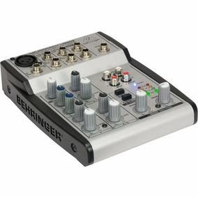 Behringer - Mixer 5 Canais - Ub502