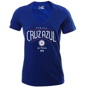 Playera Club Deporitvo Cruz Azul Mujer Under Armour Ua1135