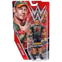 Wwe Figura De John Cena Incluye Slammy Award De Mattel