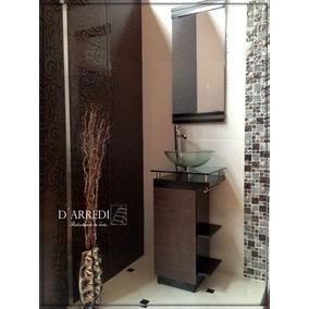 Moderno Mueble Para Baño Con Ovalin De Cristal Barato Lizeth
