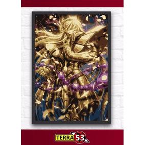 Poster A4 Shaka De Virgem Saint Seiya Cavaleiros Do Zodiaco