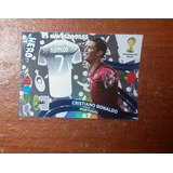 Cristiano Ronaldo Hero! Adrenalyn Xl Brasil 2014 Panini Cr7