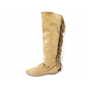 Botas Color Camello Zara Woman