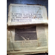 Diario El Pampero 25 Mayo 1940 Boca Juniors Inaugura Estadio