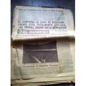 Diario El Pampero 25 Mayo 1940 Boca Juniors Inaugura Estadio