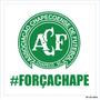 Adesivo Chapecoense Força Chape Chapecó Sticker 12cm #6004