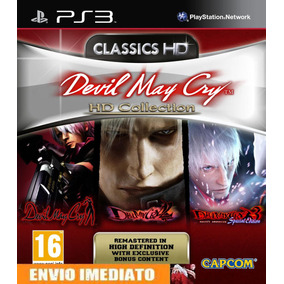 Devil May Cry Hd Collection Ps3 - Cod. Psn - Envio Imediato.