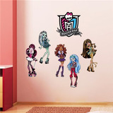 Vinil Decorativo- Monster High -entrega Inmediata