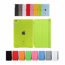 Kit Smart Case Ipad Mini 1 2 3 Capa Frontal + Traseira