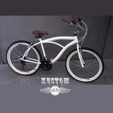 Bicicleta 26 Beach Bike Caiçara Praiana Estilo Harley