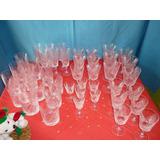Juego (42 Piezas) Copas Y Vasos De Cristal D´ Arques 24pbo