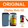 Tela Lcd Touch Display Moto G2 Xt1069 + Película De Vidro