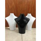 Porta Bijou Bijouterie 38cm Plástico Negro Blanco Pack X 3 U