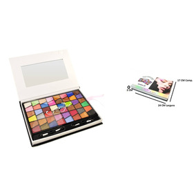 Paleta De Sombras 3d Jasmyne Com 96 Cores - V951-a