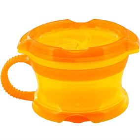 Porta Biscoitinhos Click Lock Amarelo Laranja
