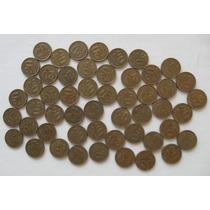 Lote Com 50 Moedas De 20 Centavos 1954 - Ainda Com Brilho