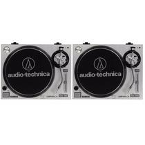 Par Toca Discos Audio- Technica At-lp120-usb Oferta #djfast