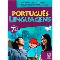 Livro Português Linguagens 7 Ano - Usado - Ed. Atual