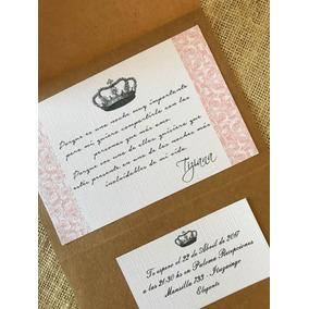 Tarjeta Invitación 15 Años Participación Kit Completo
