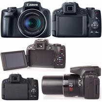 Camera Canon Sx50 Hs 50x Zoom 12.1 Mp Pronta Entrega S/caixa