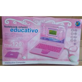 Laptop Infantil Com 120 Atividades Feminino