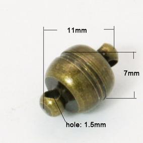 10 Broches Magnéticos Broche Con Iman Para Pulseras