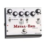 Pedal Distorsion Biyang Metal End Pro
