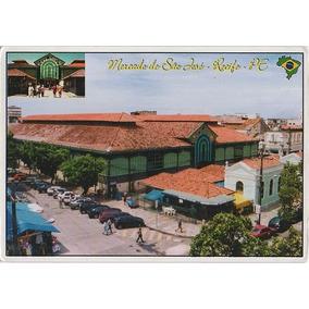 Pe-dicol-111 Postal Mercado De São José Recife Pe