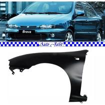 Paralama Fiat Brava 1998 À 2007 Lado Esquerdo