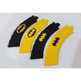 Wrapper Saia Cupcake Personalizada - Tema Batman 12unid