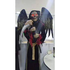 Boneco Halloween Anjo Da Morte Gigante 2mts R$3.000,00