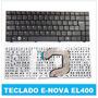 Teclado Positivo Bgh E-nova El-400 E-400 Black Español