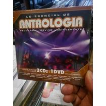 Antrologia Lo Esencial 3cd+1dvd Nuevo