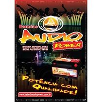 Bateria Automotiva Audio Power 95ah/850ah Corsa Palio Gol