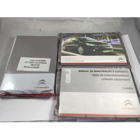 Kit Manual Proprietário Citroen C4 Pallas C4 Hatch Novo