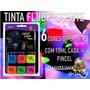 Kit Tinta Facial Corporal Fluorescente 6 Cores Color Make.