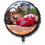 Balão Metalizado Carro Relampago Macquenn Kit/20 Redondos