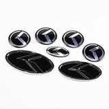 Set 7 Emblemas K Modelos Kia Negro K5 Optima Etc